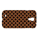 CIRCLES3 BLACK MARBLE & RUSTED METAL (R) Samsung Galaxy S4 I9500/I9505 Hardshell Case View1