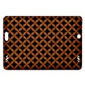 CIRCLES3 BLACK MARBLE & RUSTED METAL (R) Amazon Kindle Fire HD (2013) Hardshell Case View1
