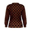 CIRCLES3 BLACK MARBLE & RUSTED METAL (R) Women s Sweatshirt View2