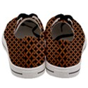 CIRCLES3 BLACK MARBLE & RUSTED METAL (R) Men s Low Top Canvas Sneakers View4