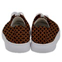 CIRCLES3 BLACK MARBLE & RUSTED METAL (R) Kids  Low Top Canvas Sneakers View4