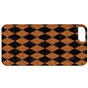 DIAMOND1 BLACK MARBLE & RUSTED METAL Apple iPhone 5 Classic Hardshell Case View1