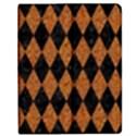 DIAMOND1 BLACK MARBLE & RUSTED METAL Apple iPad Mini Flip Case View1