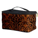 DAMASK1 BLACK MARBLE & RUSTED METAL Cosmetic Storage Case View3