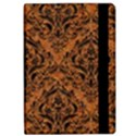 DAMASK1 BLACK MARBLE & RUSTED METAL Apple iPad Pro 9.7   Flip Case View2