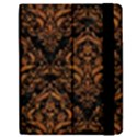 DAMASK1 BLACK MARBLE & RUSTED METAL (R) Samsung Galaxy Tab 7  P1000 Flip Case View2