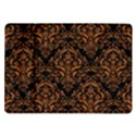 DAMASK1 BLACK MARBLE & RUSTED METAL (R) Samsung Galaxy Tab 10.1  P7500 Flip Case View1