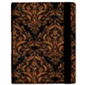DAMASK1 BLACK MARBLE & RUSTED METAL (R) Samsung Galaxy Tab 10.1  P7500 Flip Case View3