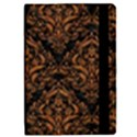 DAMASK1 BLACK MARBLE & RUSTED METAL (R) iPad Mini 2 Flip Cases View2