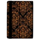 DAMASK1 BLACK MARBLE & RUSTED METAL (R) Apple iPad Pro 9.7   Flip Case View4