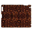DAMASK2 BLACK MARBLE & RUSTED METAL Apple iPad 3/4 Hardshell Case View1