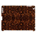 DAMASK2 BLACK MARBLE & RUSTED METAL Apple iPad 3/4 Hardshell Case (Compatible with Smart Cover) View1