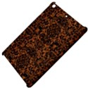 DAMASK2 BLACK MARBLE & RUSTED METAL Apple iPad Mini Hardshell Case View4
