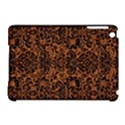 DAMASK2 BLACK MARBLE & RUSTED METAL Apple iPad Mini Hardshell Case (Compatible with Smart Cover) View1