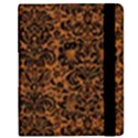 DAMASK2 BLACK MARBLE & RUSTED METAL Samsung Galaxy Tab 8.9  P7300 Flip Case View2