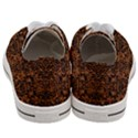 DAMASK2 BLACK MARBLE & RUSTED METAL Women s Low Top Canvas Sneakers View4