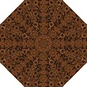 DAMASK2 BLACK MARBLE & RUSTED METAL (R) Straight Umbrellas View1