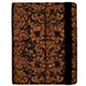 DAMASK2 BLACK MARBLE & RUSTED METAL (R) Apple iPad Mini Flip Case View2