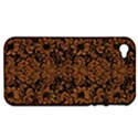 DAMASK2 BLACK MARBLE & RUSTED METAL (R) Apple iPhone 4/4S Hardshell Case (PC+Silicone) View1