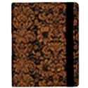 DAMASK2 BLACK MARBLE & RUSTED METAL (R) Samsung Galaxy Tab 8.9  P7300 Flip Case View2
