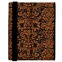 DAMASK2 BLACK MARBLE & RUSTED METAL (R) Samsung Galaxy Tab 8.9  P7300 Flip Case View3