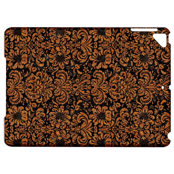 DAMASK2 BLACK MARBLE & RUSTED METAL (R) Apple iPad Pro 9.7   Hardshell Case