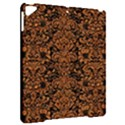 DAMASK2 BLACK MARBLE & RUSTED METAL (R) Apple iPad Pro 9.7   Hardshell Case View2