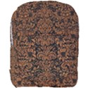 DAMASK2 BLACK MARBLE & RUSTED METAL (R) Full Print Backpack View1