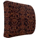 DAMASK2 BLACK MARBLE & RUSTED METAL (R) Back Support Cushion View2