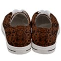 DAMASK2 BLACK MARBLE & RUSTED METAL (R) Women s Low Top Canvas Sneakers View4