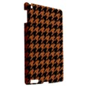 HOUNDSTOOTH1 BLACK MARBLE & RUSTED METAL Apple iPad 3/4 Hardshell Case View2