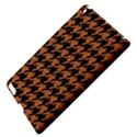 HOUNDSTOOTH1 BLACK MARBLE & RUSTED METAL Apple iPad 3/4 Hardshell Case View4