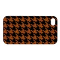 HOUNDSTOOTH1 BLACK MARBLE & RUSTED METAL Apple iPhone 4/4S Premium Hardshell Case View1