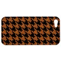 HOUNDSTOOTH1 BLACK MARBLE & RUSTED METAL Apple iPhone 5 Hardshell Case View1