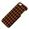 HOUNDSTOOTH1 BLACK MARBLE & RUSTED METAL Apple iPhone 5 Hardshell Case View4
