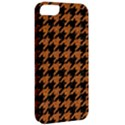 HOUNDSTOOTH1 BLACK MARBLE & RUSTED METAL Apple iPhone 5 Classic Hardshell Case View2
