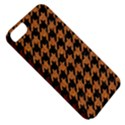 HOUNDSTOOTH1 BLACK MARBLE & RUSTED METAL Apple iPhone 5 Classic Hardshell Case View5