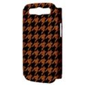 HOUNDSTOOTH1 BLACK MARBLE & RUSTED METAL Samsung Galaxy S III Hardshell Case (PC+Silicone) View3