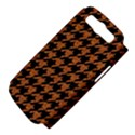 HOUNDSTOOTH1 BLACK MARBLE & RUSTED METAL Samsung Galaxy S III Hardshell Case (PC+Silicone) View4