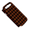 HOUNDSTOOTH1 BLACK MARBLE & RUSTED METAL Samsung Galaxy S III Hardshell Case (PC+Silicone) View5