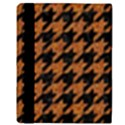 HOUNDSTOOTH1 BLACK MARBLE & RUSTED METAL Apple iPad 2 Flip Case View3