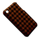 HOUNDSTOOTH1 BLACK MARBLE & RUSTED METAL iPhone 3S/3GS View5