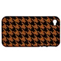 HOUNDSTOOTH1 BLACK MARBLE & RUSTED METAL Apple iPhone 4/4S Hardshell Case (PC+Silicone) View1