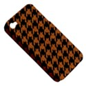 HOUNDSTOOTH1 BLACK MARBLE & RUSTED METAL Apple iPhone 4/4S Hardshell Case (PC+Silicone) View5