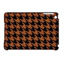 HOUNDSTOOTH1 BLACK MARBLE & RUSTED METAL Apple iPad Mini Hardshell Case (Compatible with Smart Cover) View1