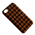 HOUNDSTOOTH1 BLACK MARBLE & RUSTED METAL Apple iPhone 4/4S Hardshell Case with Stand View5