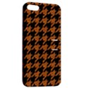 HOUNDSTOOTH1 BLACK MARBLE & RUSTED METAL Apple iPhone 5 Hardshell Case with Stand View2