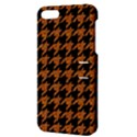 HOUNDSTOOTH1 BLACK MARBLE & RUSTED METAL Apple iPhone 5 Hardshell Case with Stand View3