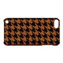 HOUNDSTOOTH1 BLACK MARBLE & RUSTED METAL Apple iPod Touch 5 Hardshell Case with Stand View1
