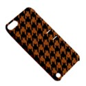 HOUNDSTOOTH1 BLACK MARBLE & RUSTED METAL Apple iPod Touch 5 Hardshell Case with Stand View5